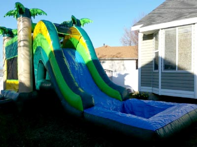 Bounce House Water Slide Combo Salt Lake City