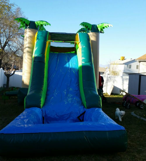 Inflatable Water Slide To Rent: Inflatable Bounce House & Water Slide Combo Rentals Salt