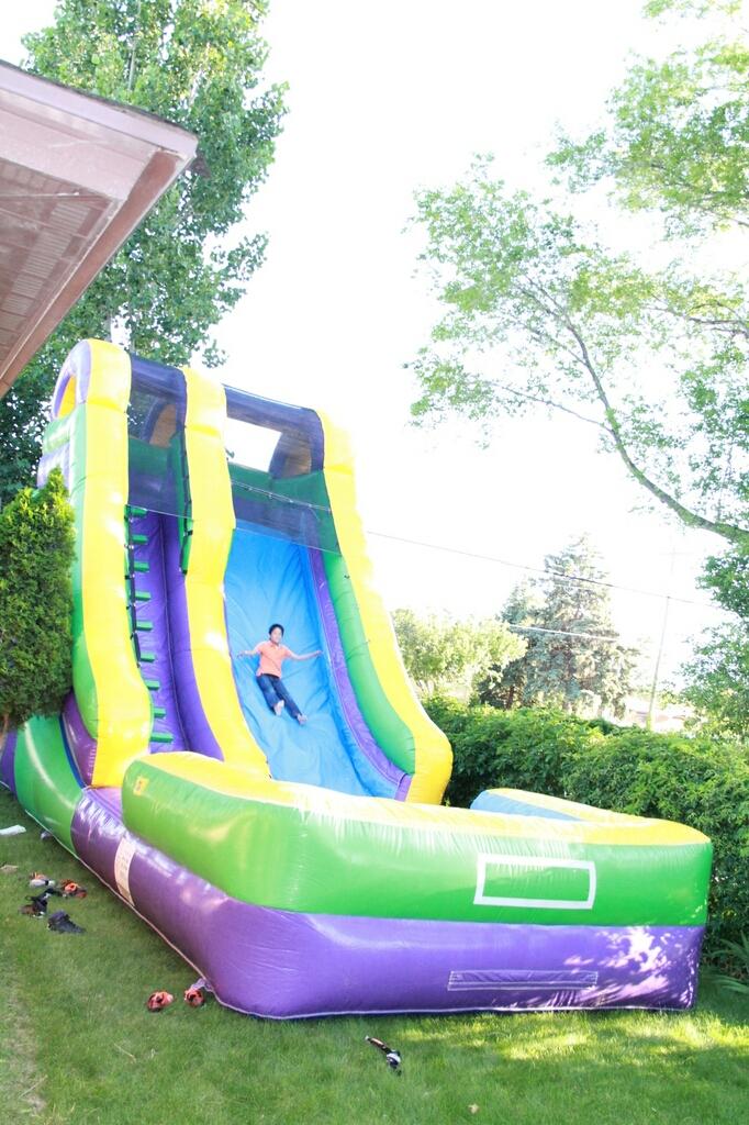 0361063acabf Water Slide and Dry Slide Rental In Utah - All Stars Jumpers